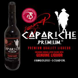 LICOR HERBAL FINO, CAPARICHE PREMIUM