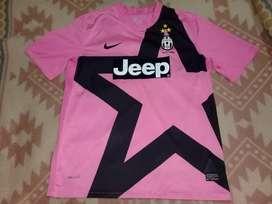 Camiseta Juventus Rosa Nike Talle L