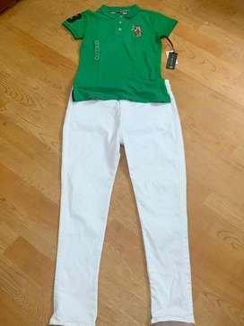 T~Shirt nuevo marca Polo ds hasta S