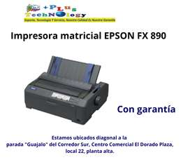 IMPRESORA EPSON MATRICIAL FX 890