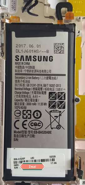 Bateria original Samsung Galaxy A5 2017