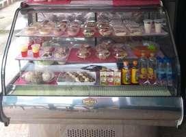 Vitrina refrigerante para reposteria