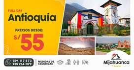Full day Paracas / Antioquía