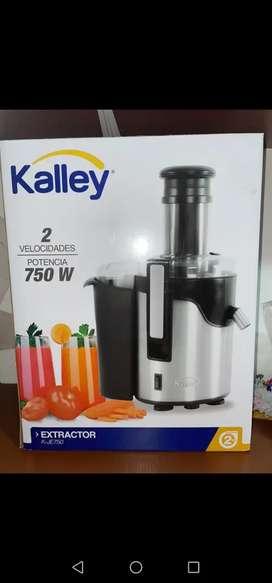 Extractor de fruta marca Kalley ¡NUEVO!