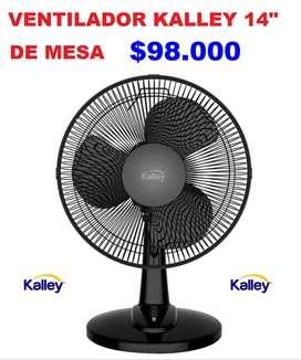 VENTILADOR KALLEY DE MESA NUEVOS