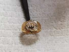 Oferta de anillo rolex dama en oro amarillo 18kilates.
