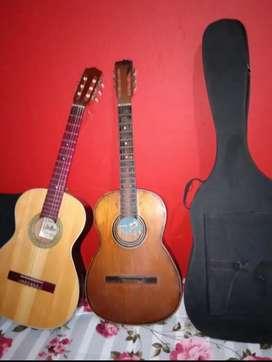 Guitarras acústicas +estuche +pua