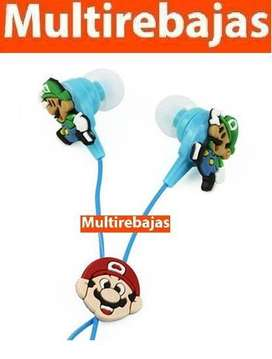 Audifonos Mario Bross Para Celular