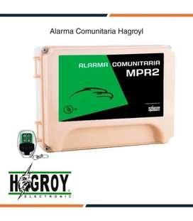 Alarma comunitaria mpr2 hagroy 62 controles
