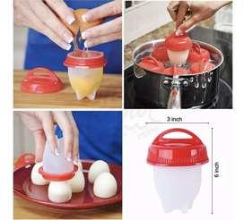 Hervidor de huevos silicone 6und