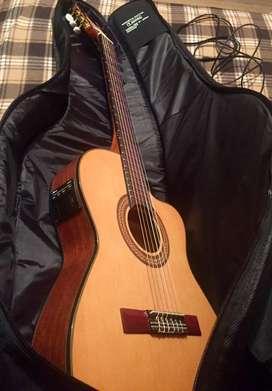 Guitarra electroclasica ibanez