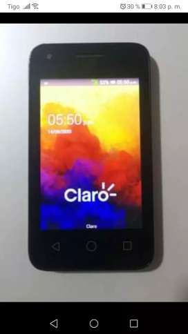 Celular Alcatel One Touch Pixi 3 (4009A) 512 MB RAM 4 GB Almacenamiento interno Android 4.4.2