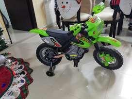 Moto con bateria