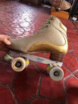 PATINES PROFESIONALES PARA PATINAJE ARTISTICO ROLL LINE MAGNUM 53 D TALLE 38