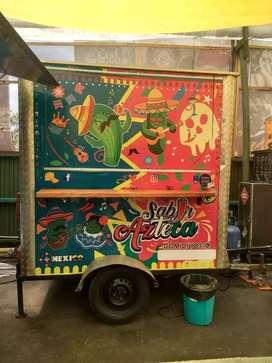 Vendo trailer de comida