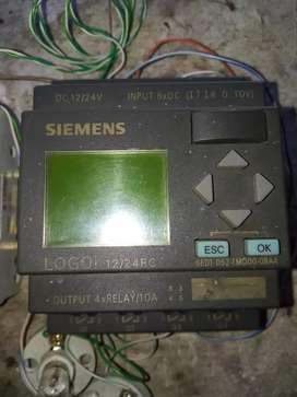 PLC LOGO SIEMENS 12-24 RC