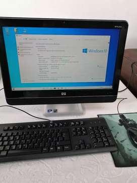 Computador todo en uno HP 19 pulgadas