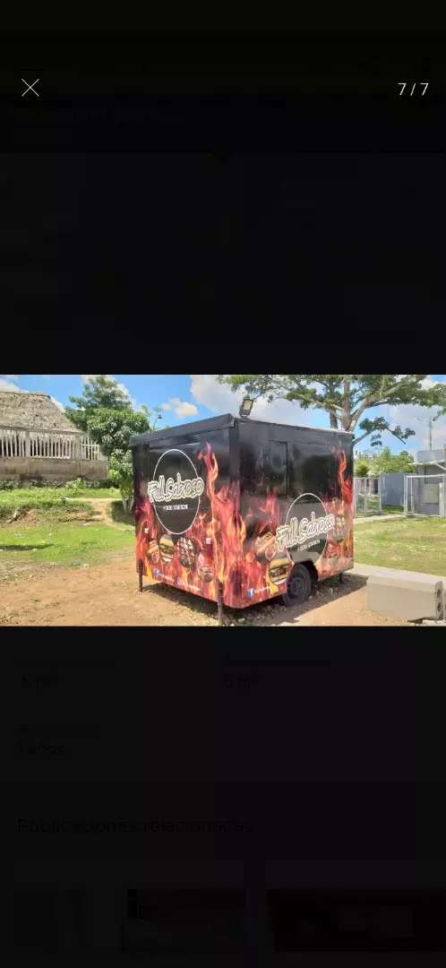 Food Truck - Tráiler de comidas rapidas 0