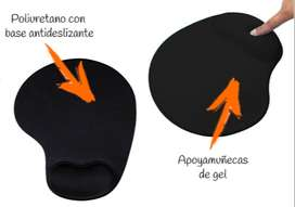 Pad Mouse Gel Ergonomico / Tapete Mouse Adherible / Pad mouse con soporte de Muñeca