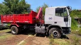 Alquiler De Camión IVECO Con Hiddrogúa Flete Volcador