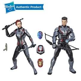 Marvel Legends Avengers End Game para coleccionistas hawkye y viuda negra + iron man nebula y ant-man