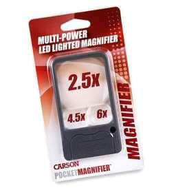 Lupa Carson PM33 Multi-Power 2.5x / 4.5x / 6x