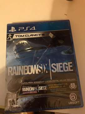Rainbowsix   siege con cupon para edicion deluxe en caja sellada