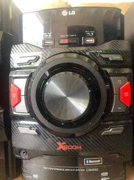 Minicomponente LG XBOOM CM4640