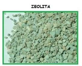 Zeolita para tratamiento de agua