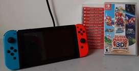 Vendo juego nuevo Nintendo switch