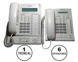 7 Telefonos Panasonic KX-T7630