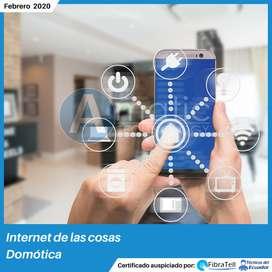 """Certifícate en: Internet de las cosas """"Domótica"""""""