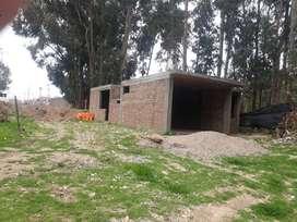 Venta de terreno  y casa en construccion1