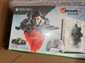 Xbox one X edición Especial Gears 5