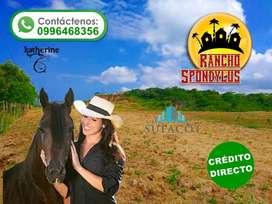 Vendo Terreno En Montecristi Cuotas de 100 Para Tu Finca Familiar!! Sin Intereses SD2