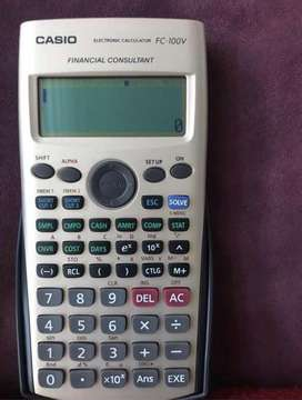Vendo calculadora financiera nueva