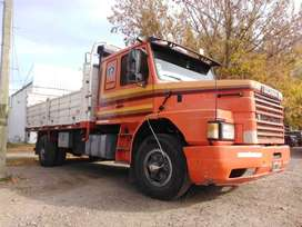 Scania 112 chasis Largo con carroceria