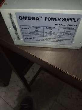 Fuente de poder 550watts