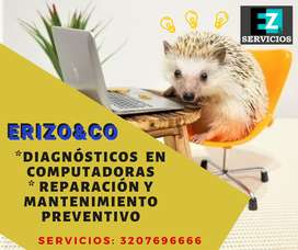 Servicio a domicilio de Diagnostico, mantenimiento y reparaciones de Computadores  Hogar y Empresas
