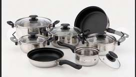 Ollas de inducción en aluminio, sirven para cualquier clase de estufa