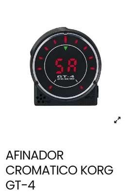 AFINADOR CROMATICO KORG GT-4