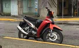Cambio moto yamaha