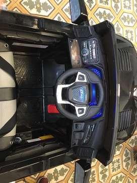 Carro electrico recargable con control remoto