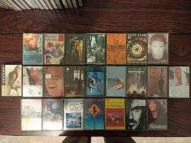12cassettes Originales En Exc Estado, Tmb 2 Nuevos Virgen