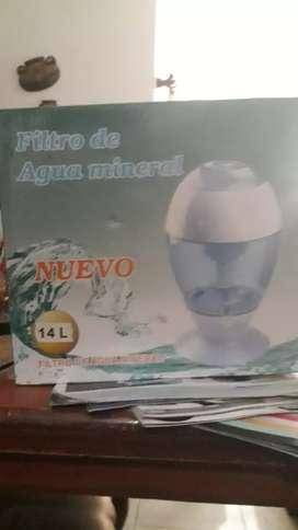 Filtro de agua mineral NUEVO