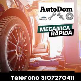 Taller mecánico automotriz especializado servicio a Domicilio