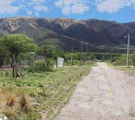 lote de 1500m2 en Cortaderas, San Luis