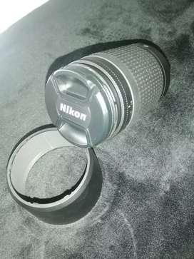 Objetivo lente AF 70-300. 1:4-5.6G  Nikon original