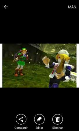 Zelda ocarina of the time 3ds juegazo