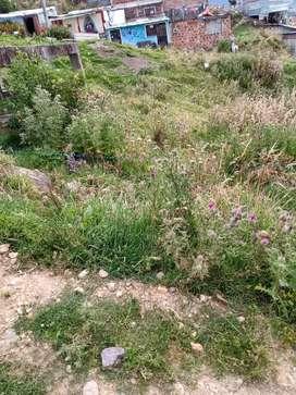 Vendo lote de 6* 12 o permuto está ubicado en tihuaque antigua vía al llano